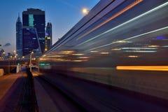 Трамваи Дубай Стоковая Фотография