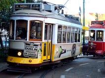 Трамвайная линия Стоковая Фотография