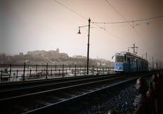 Трамвайная линия Стоковая Фотография RF
