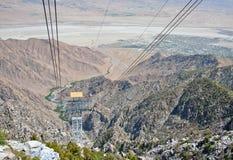 Трамвайная линия Palm Springs Ariel Стоковые Изображения