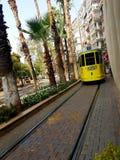 Трамвайная линия стоковые изображения rf
