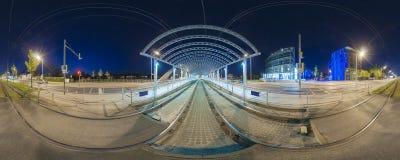 Трамвайная остановка в Ганновере Стоковые Фотографии RF