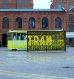 Трамвайная остановка стоковое изображение rf