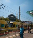 Трамвайная остановка Eminonu Стоковое фото RF