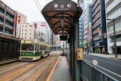 Трамвайная остановка Kanayamacho Стоковые Фотографии RF