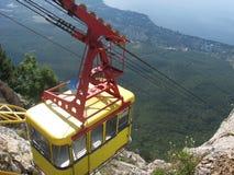 Трамвай в Крыме, Ai-Petri стоковая фотография