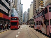 Трамвай Гонконга s стоковое фото rf