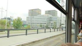 Трамвай города в Европе акции видеоматериалы