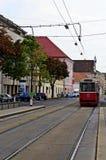 Трамвай города вены Стоковая Фотография