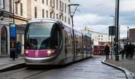 Трамвай к Вулверхэмптону стоковые фото