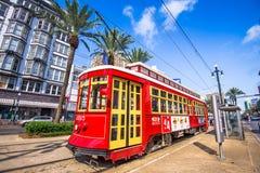 Трамвай Нового Орлеана Стоковые Фотографии RF