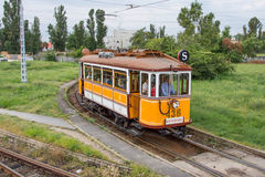 Трамвай ностальгии в Будапеште стоковое изображение