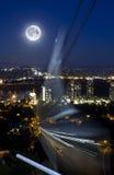 Трамвай Портленд Орегон призрака Стоковое Изображение RF