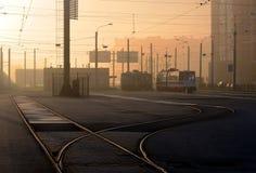 Трамвай Санкт-Петербурга Стоковое фото RF