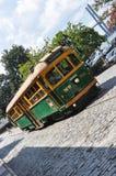 Трамвай улицы реки в саванне Стоковое Фото