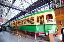 Трамвай bendigo никакой 1995 не состоять от депо трамвая Rozelle начиная с ноября 1951 до закрытия ` s депо в 1958 стоковая фотография rf