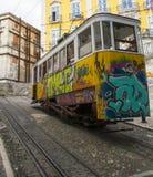 Трамвай Calcada da Глории Стоковые Изображения RF