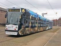 Трамвай Combino Стоковая Фотография