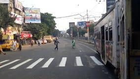 Трамвай Kolkata старый стоковое фото