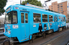 Трамвай Kumamoto Стоковое Фото