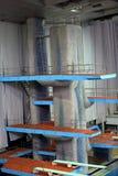 Трамплин для скачек в воде в комплексе спорта Стоковые Фотографии RF