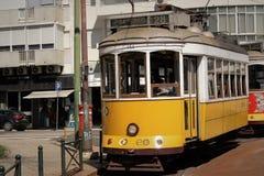 Трам 28 Лиссабона Стоковые Фото