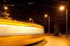 трам ночи Стоковые Фотографии RF