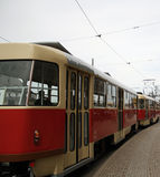 трам Стоковая Фотография RF