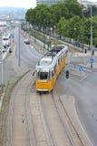 трам budapest Стоковое Фото