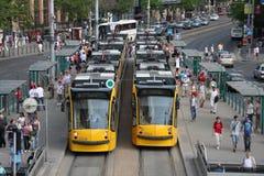 трам budapest Стоковое Изображение RF