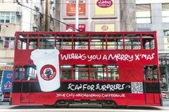 трам Hong Kong стоковое фото
