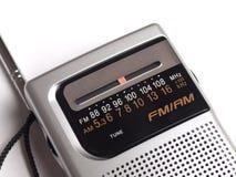 транзистор радио ретро Стоковое Фото