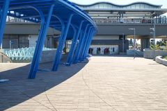 Транзитная станция озера угл Стоковые Фото