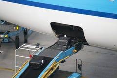 Транспортер загрузки воздушных судн Стоковое Изображение RF
