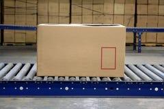 транспортер коробки Стоковое фото RF