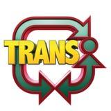 транспортер логоса Стоковое фото RF