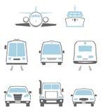 Транспортируйте иконы Стоковые Фотографии RF