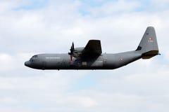 Транспортный самолет C-130 Геркулеса Стоковые Изображения