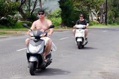Транспорт в Острова Кука Rarotonga Стоковые Фото