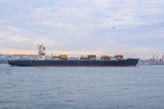 Транспорт грузового корабля Стоковые Изображения RF