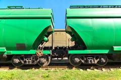 Транспорт зерна Стоковая Фотография