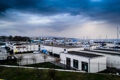 Транспорт Марины и моря Pendik - Турция Стоковое Изображение