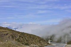Транспорт пассажира шины плато Стоковое фото RF