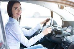 Транспорт персоны технологией автомобиля eco современной Стоковые Фото