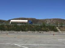 Транспорт природного газа стоковая фотография