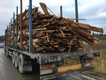 Транспорт древесины Стоковое Изображение RF