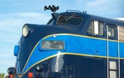 Транспорт фуры пассажирского поезда локомотивный железнодорожный Стоковая Фотография