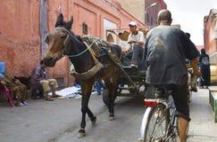 Транспорт Medina Стоковые Изображения