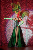 транссексуал выставки представления tiffany Стоковое фото RF