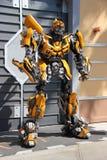 Трансформаторы на студиях Universal Голливуде Стоковое Изображение